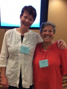 Bonnie and I presenting at the 2015 NESCBWI conference