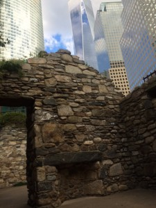 Irish Famine Memorial in Battery Park
