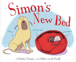 I bought Christian's picture book SIMON'S NEW BED- so perfect for young children!