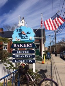 I couldn't leave Woods Hole without having a delicious scone at Pie in the Sky!