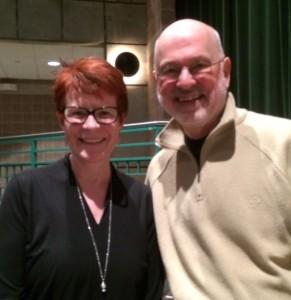 Meeting Jim Howe was delightful!
