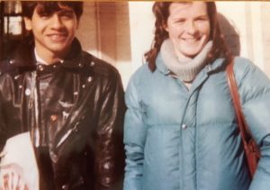 Reuniting with Wilfredo at Lincoln Center in 1980